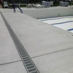 New concrete around entire pool